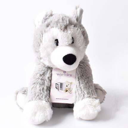 Soft Toys - Warmies Microwavable Cozy Husky - Image 2