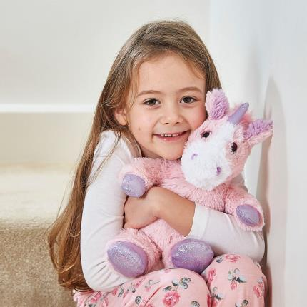 Soft Toys - Warmies Microwavable Cozy Unicorn - Image 2