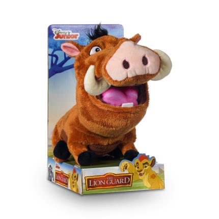 "Soft Toys - Disney Lion Guard 10"" Pumbaa - Image 1"