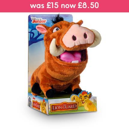 "Soft Toys - Disney Lion Guard 10"" Pumbaa - Image 2"