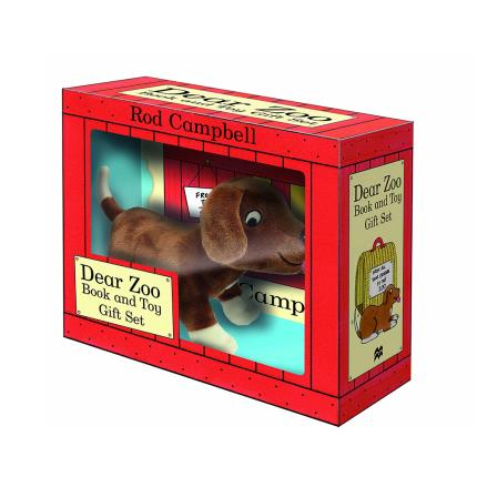 Soft Toys - Dear Zoo' Book & Plush Gift Set - Image 1