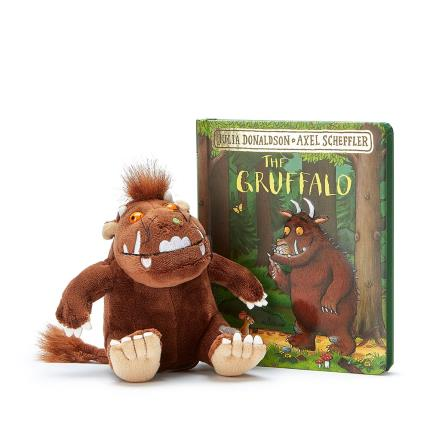 Soft Toys - The Gruffalo Book and Toy Gift Set - Image 1