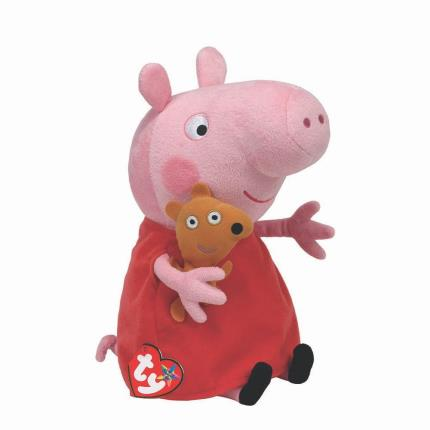 Soft Toys - Peppa Pig Ty Beanie - Image 1