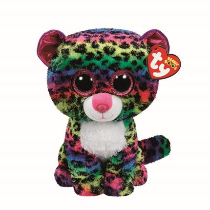 Soft Toys - Ty Beanie Boo Buddy Dotty the Leopard - Image 2