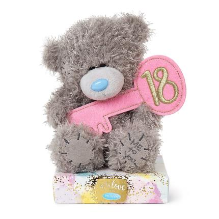 Soft Toys - 18th Birthday Tatty Teddy - Image 1