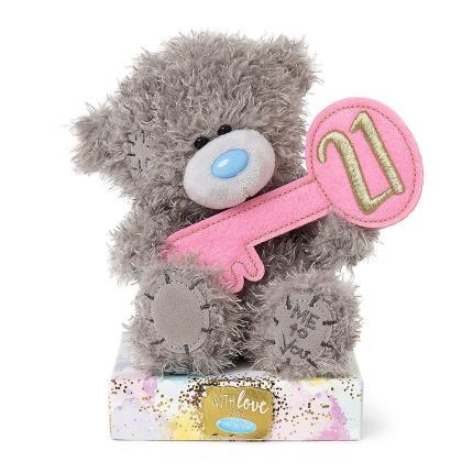 Soft Toys - 21st Birthday Tatty Teddy - Image 1