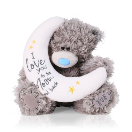 Soft Toys - 'Love you to the Moon & Back' Tatty Teddy - Image 1