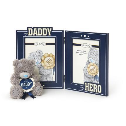 Soft Toys - No 1 Daddy Gift Set Plush & Photo Frame - Image 1