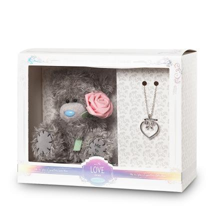 Soft Toys - Tatty Teddy & Necklace 'Bridesmaid' Gift Set - Image 2