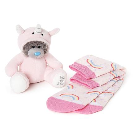 Soft Toys - Unicorn Plush & Socks Gift Set - Image 2