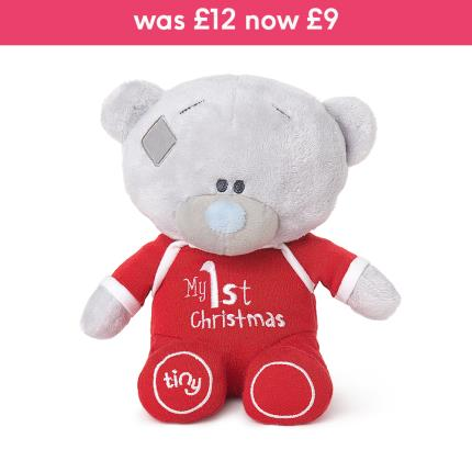 Soft Toys - Me to You Tiny Tatty Teddy My First Christmas Baby Gift - Image 1