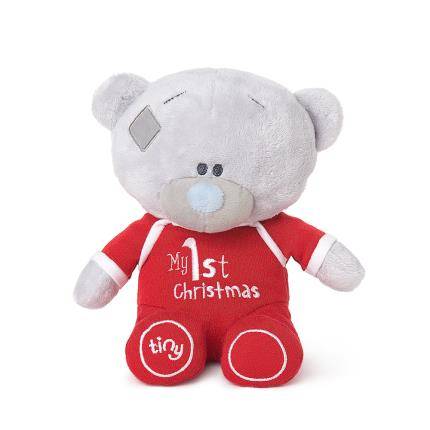 Soft Toys - Me to You Tiny Tatty Teddy My First Christmas Baby Gift - Image 2