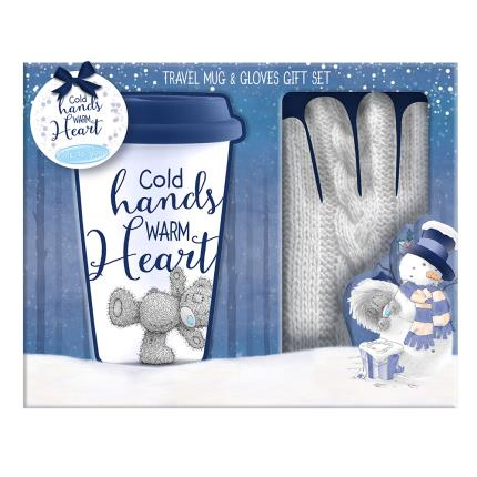 Soft Toys - Me to You Tatty Teddy Travel Mug & Gloves Gift Set - Image 1