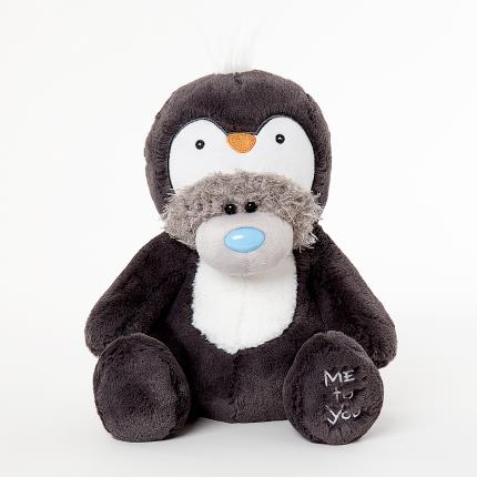 Soft Toys - Me to You Tatty Teddy Penguin Onesie Soft Toy - Image 1