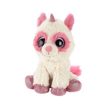 Soft Toys - Warmies Microwavable Pink Racoonicorn Soft Toy - Image 1