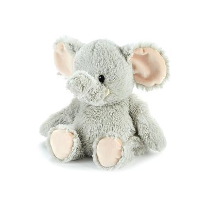Soft Toys - Warmies Microwavable Grey Elephant Soft Toy - Image 1