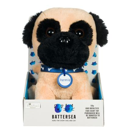 Soft Toys - Battersea Cats & Dogs Home Parsnip Soft Toy - Image 1