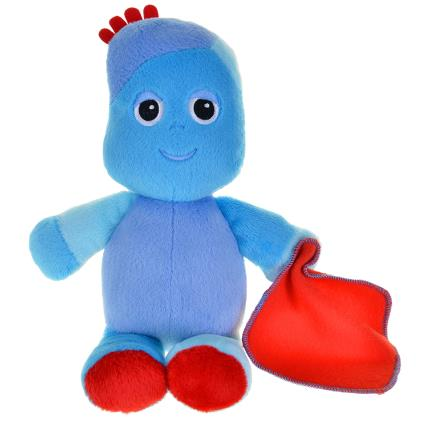 Soft Toys - In The Night Garden Snuggly Singing Iggle Piggle Soft Toy - Image 1