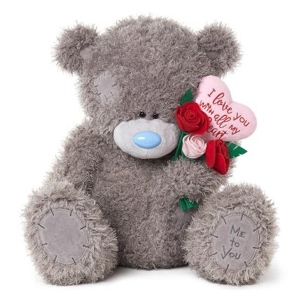 Soft Toys - Large Me To You Tatty Teddy You Are The Love Of My Life Plush Toy - Image 1