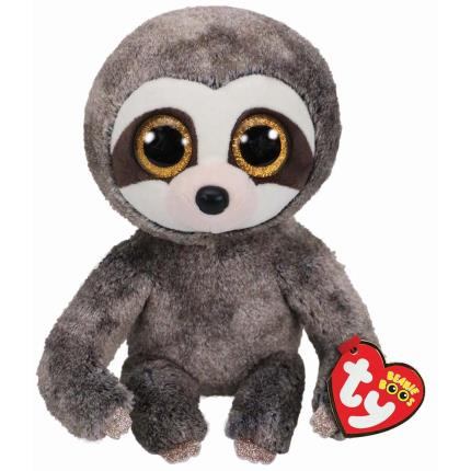 Soft Toys - Ty Beanie Babies Dangler The Adorable Sloth Plush Toy - Image 1