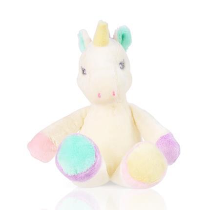 Soft Toys - Aurora Rainbow Unicorn Plush Baby Rattle - Image 2