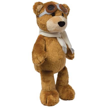 Soft Toys - Manhattan Toy Aviator Pilot Brown Bear Soft Toy - Image 2