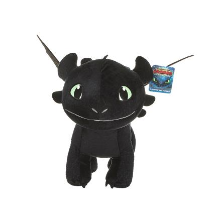 Soft Toys - How To Train Your Dragon Smiling Toothless Plush Toy - Image 1