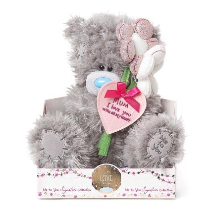 Soft Toys - Me To You Tatty Teddy Mother's Day I Love You Mum Soft Toy - Image 1
