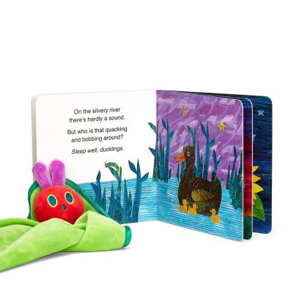 Soft Toys - Very Hungry Caterpillar Book & Snuggle Blanket Baby Gift Set - Image 1