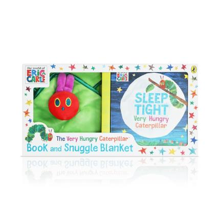 Soft Toys - Very Hungry Caterpillar Book & Snuggle Blanket Baby Gift Set - Image 2