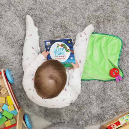 Soft Toys - Very Hungry Caterpillar Book & Snuggle Blanket Baby Gift Set - Image 3
