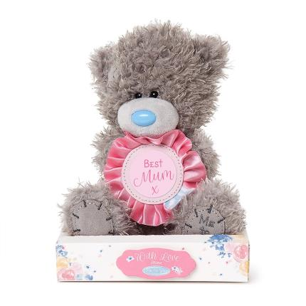 Soft Toys - Me To You Tatty Teddy Mother's Day With Personalised Stickers Soft Toy - Image 1