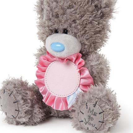 Soft Toys - Me To You Tatty Teddy Mother's Day With Personalised Stickers Soft Toy - Image 2