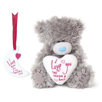 Soft Toys - Me To You Tatty Teddy I Love You To The Moon And Back Gift Set - Image 1