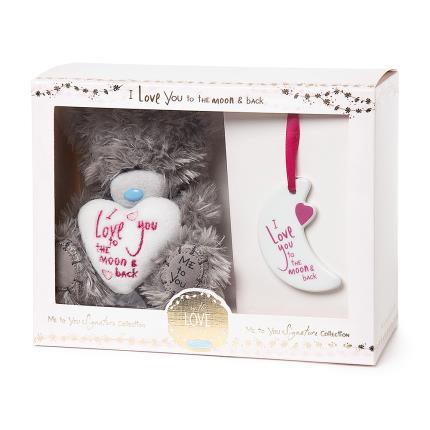Soft Toys - Me To You Tatty Teddy I Love You To The Moon And Back Gift Set - Image 2