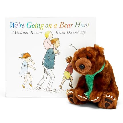 Soft Toys - We're Going On A Bear Hunt Book & Soft Plush Bear Gift Set - Image 1