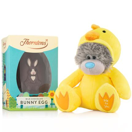 Soft Toys - Tatty Teddy Baby Chicken Thorntons Easter Egg Gift Set - Image 1