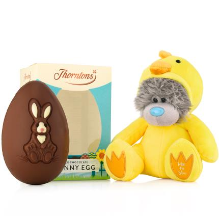 Soft Toys - Tatty Teddy Baby Chicken Thorntons Easter Egg Gift Set - Image 3