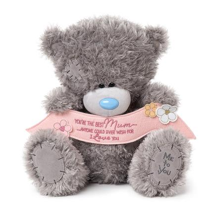 Soft Toys - Large 'Best Mum' Me To You Tatty Teddy - Image 1
