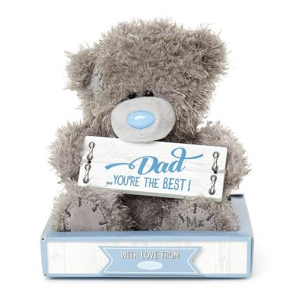Soft Toys - Dad You're The Best Tatty Teddy - Image 1