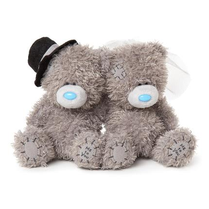 Soft Toys - Bride and Groom Tatty Teddy - Image 1