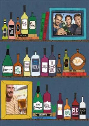 Greeting Cards - Alcohol On Shelf Photo Card - Image 1