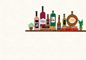 Greeting Cards - Alcohol On Shelf Horizontal Photo Card - Image 2