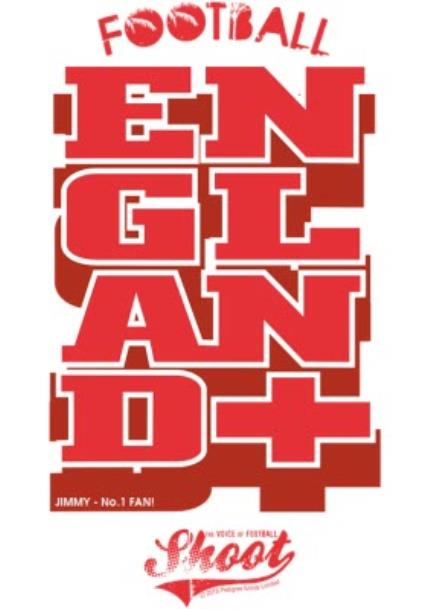 T-Shirts - Football England Personalised T-shirt - Image 4