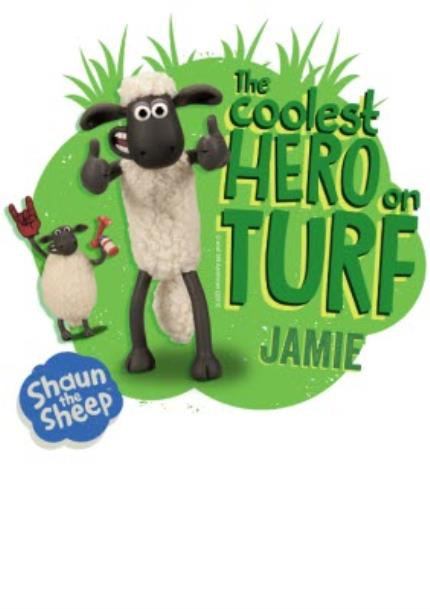 T-Shirts - Shaun The Sheep Coolest Hero On Turf T-Shirt  - Image 4