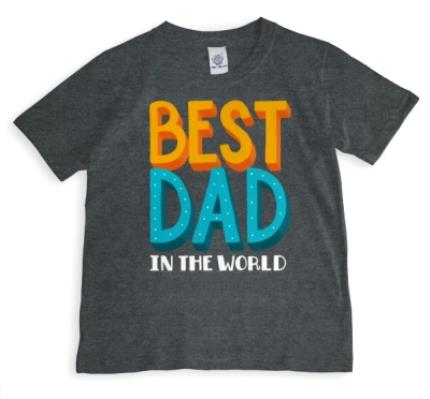 T-Shirts - Best Dad In The World T-Shirt - Image 1