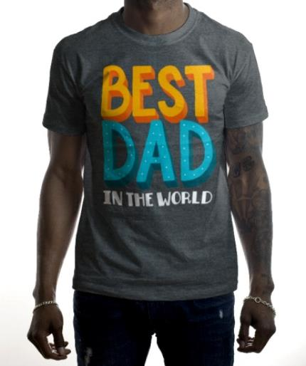 T-Shirts - Best Dad In The World T-Shirt - Image 2