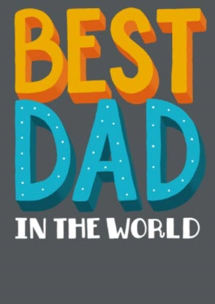 T-Shirts - Best Dad In The World T-Shirt - Image 4