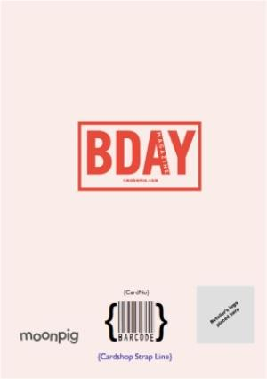 Greeting Cards - Bday 30Th Issue Cover Photo Upload Card - Image 4