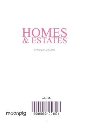 Greeting Cards - Home And Estates Spoof Magazine Personalised New Home Card - Image 4